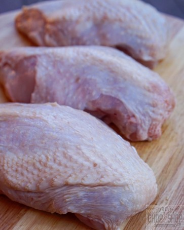 * SKIN ON* Breast Fillet Chicken Breast Fillets (1/2's)