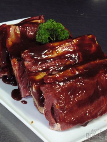 Hickory BBQ beef ribs