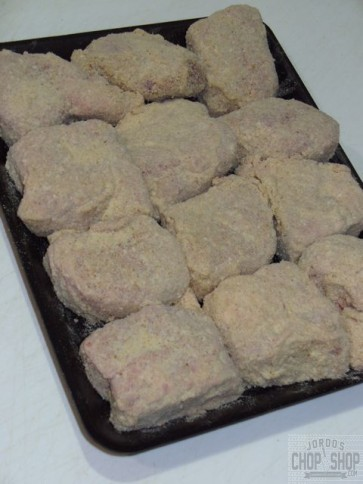 Crumbed Lamb Brains 6 packs (gluten-free also available)