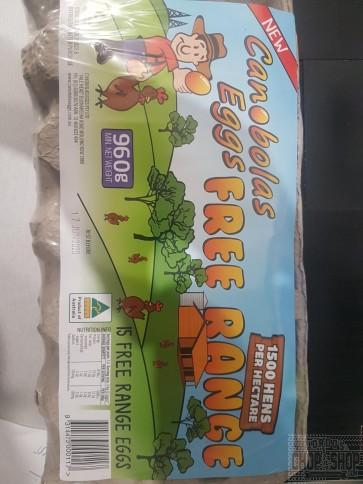 Canobolas - Free Range Eggs 12 packs