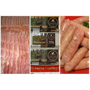 $30 Pack - Eggs, Bacon and Sausages Breakfast Pack