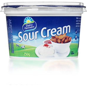 Dairy Farmers Sour Cream - 250g