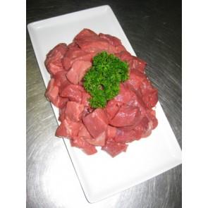 Lean diced beef