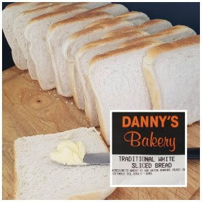 Danny's Bakery Traditional White Bread