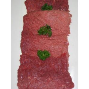 Beef schnitzels