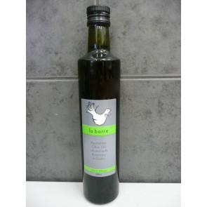 La Barre rosemary + garlic infused olive oil