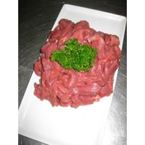 Lean beef strips